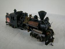 Heisler 2 Truck Logging Steam Locomotive - custom weathered - HO scale