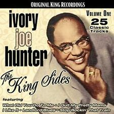 DAMAGED ARTWORK CD Hunter, Ivory Joe: King Sides 1