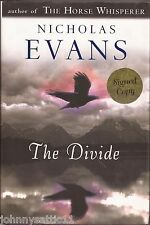 Signed Copy The Divide by Nicholas Evans (2005, Hardcover) 0399152067