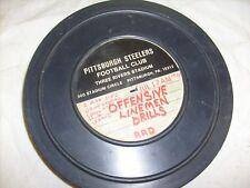 1975 Vintage Projector Film, Pittsburgh Steelers Football - 16mm  Linemen