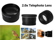 Z81u 2X TELE telephoto Teleconverter Lens for Panasonic DMC LX100 Camera