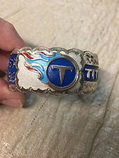 Native American Navajo Women's Bracelet Tennessee Titans Football Cuff #4 Nice