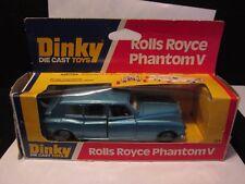 Dinky Die Cast Toys Rolls Royce Phantom V 124 in Original Box