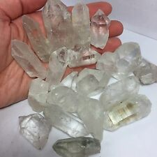Lot of 20 Clear Quartz Crystal Points