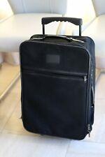 valise cabine à roulettes - toile - zippée - 1 compartiment - 1 poche - TBE