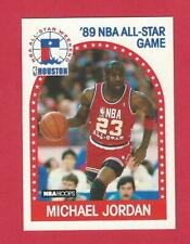 1989-90 HOOPS #21 MICHAEL JORDAN ALL-STAR BASKETBALL CARD