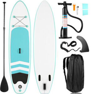 Bestway Hydro-Force 10 Foot Inflatable Stand Up Paddle Board SUP White/Blue