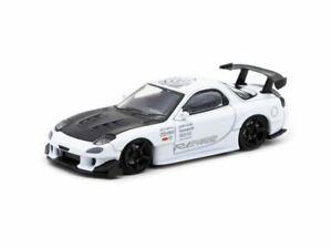 1:64 Mazda RX7 (FD3S) RE Amemiya -- White -- Ignition Model IG1948