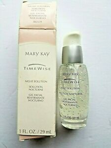Mary Kay Timewise Night Solution Facial Gel Dry to Oily Skin 1 OZ  New in Box