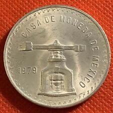 1979 - Mexican 1 oz - 92.5% Silver UNA ONZA 33.625 g Coin -  Nice Coin!