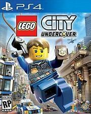 LEGO City Undercover (Sony PlayStation 4, 2017) Includes Police Car MiniBuild