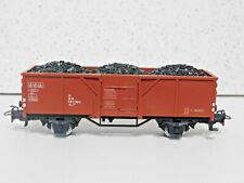Marklin HO 4431  High Sided Gondola With Coal Load  Used