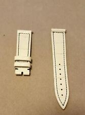 Franck Muller White Alligator Strap For Long Island 950/952