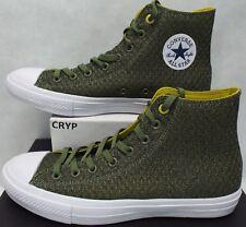 New Mens 10 Converse Chuck Taylor All Star CTAS 2 Hi Fatigue Green 154021C $80
