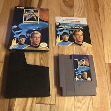 Star Trek 25th Anniversary NES Nintendo Complete CIB Original Authentic Tested