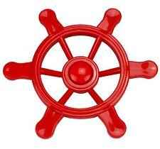 Steuerrad rot Schiffslenker für Spielturm Piratenschiff Lenker rotes Lenkrad