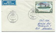 URSS CCCP Exploration .Mission Base Ship Polar Antarctic Cover / Card