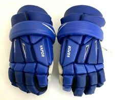 "New Nike Vapor Adults Size 12"" Royal Blue / White Lacrosse Gloves"