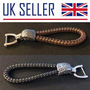 Eagle Rope Keyring/Chain - Gift, Holder, Leather, Bird, Secure, Car Keys, Prey