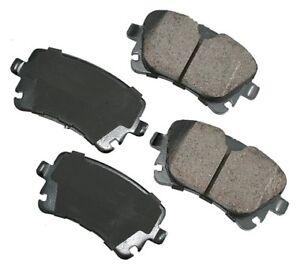 For Audi A4 A5 A6 Quattro Q5 S4 S5 S6 S8 Rear Disc Brake Pads Akebono Euro