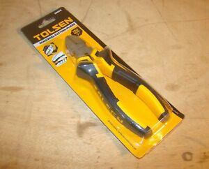 "Tolsen Professional Grade 7"" (180mm) Diagonal Side Cutter Pliers"