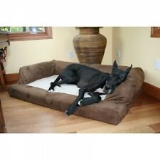 XXL Dog Bed Orthopedic Foam Sofa Couch Extra Large Size Great Dane Chocolate