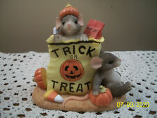Fitz & Floyd Charming Tails Halloween Bag of Tricks or Treats Figure No Box