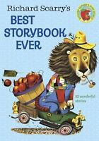 Richard Scarry's Best Story Book Ever 1968 - 82 Stories & Poems. Large Hardcover