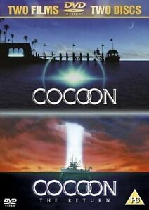 COCOON MOVIE DOUBLE PACK DVD COLLECTION PART 1 AND 2 THE RETURN FILM UK R2