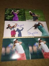 CHEYENNE WOODS TIGER NIECE LPGA GOLF SIGNED AUTOGRAPHED 8X10 PHOTOGRAPH (1)