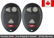 2x New Replacement Keyless Entry Remote Key Fob For Buick Pontiac & Oldsmobile