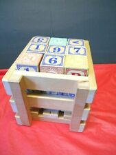 Uncle Goose 27 Blocks In Wooden Crate