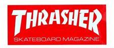 Thrasher Magazine Skate Mag Logo Skateboard Sticker Red 2.5 X 6