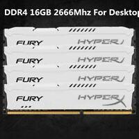 Für Kingston HyperX Fury 16GB 32GB 64GB 288Pin DDR4 Desktop-Speicher CL15 DIMM Q