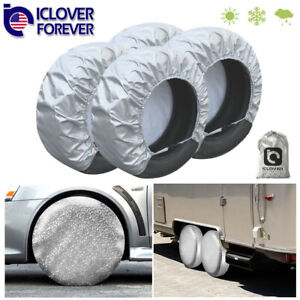 Cyloten Tire Cover Cute Cat Pink Pattern Spare Tire Covers Dust-Proof Wheel Tire Bags Anti-Scratch Tire Tote Winter Wheel Protectors Accessories for Rv SUV Trailer Motorhome