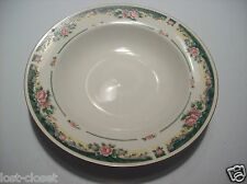 Farberware Legends 435K Soup Salad Cereal Bowl Dish Ivory Green Roses @ cLOSeT