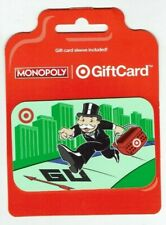 TARGET Gift Card - Monopoly Man / Monopoly Games - No Value - I Combine Shipping