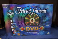 Trivial Pursuit DVD Game Cards 2 Complete Parker 2006 Culture 1800 Q&a