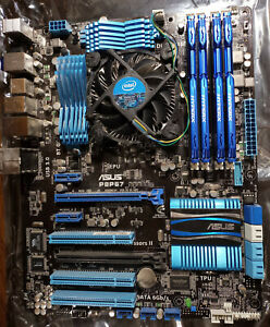 Asus P8P67 LGA1155 Motherboard and Intel i7-3770 Combo w/ Fan