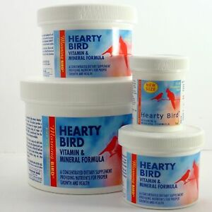 Morning Bird Hearty Vitamins / Minerals Formula for All Size Birds