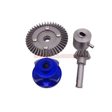 Axial SCX10 Dingo Steel Crown Gear Set 13/43T For Front Rear Diff. Axle (Blue)