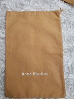 "Acne Studios Dust Cover Bag ~ Handbag, Shoes...H 14.25"" x W 9.625"""