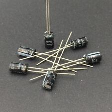 50pcs 33uF 6.3V Nichicon  6.3V33uF electrolytic Capacitor 4x7mm