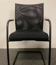 Black mesh and metal - home office chair