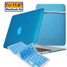 3-IN-1 Macbook Air 11.6'' Soft Touch Case keyboard cover Sleeve Bag Notebook Bag