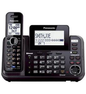 Panasonic 2 Line Cordless Phone w/ Link to Cell & USB KX-TG9541B