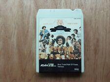 Soul Train Hall of Fame 8 Track Tape 1973 Adam VIII #8004 Compilation Lear Jet