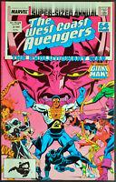 West Coast Avengers Annual #3 (1987) Marvel VF/NM
