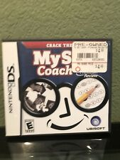 Ubisoft-My SAT Coach for Nintendo DS-Previously Owned-Mint