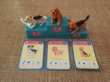 Vintage Hasbro Puppy in My Pocket Lot Set Dice Kent Milton w/ Card